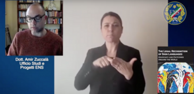 "Commento sul libro ""The Legal Recognition of Sign Languages"""